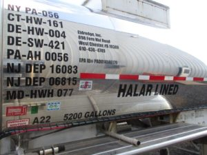 Halar Lined Tank